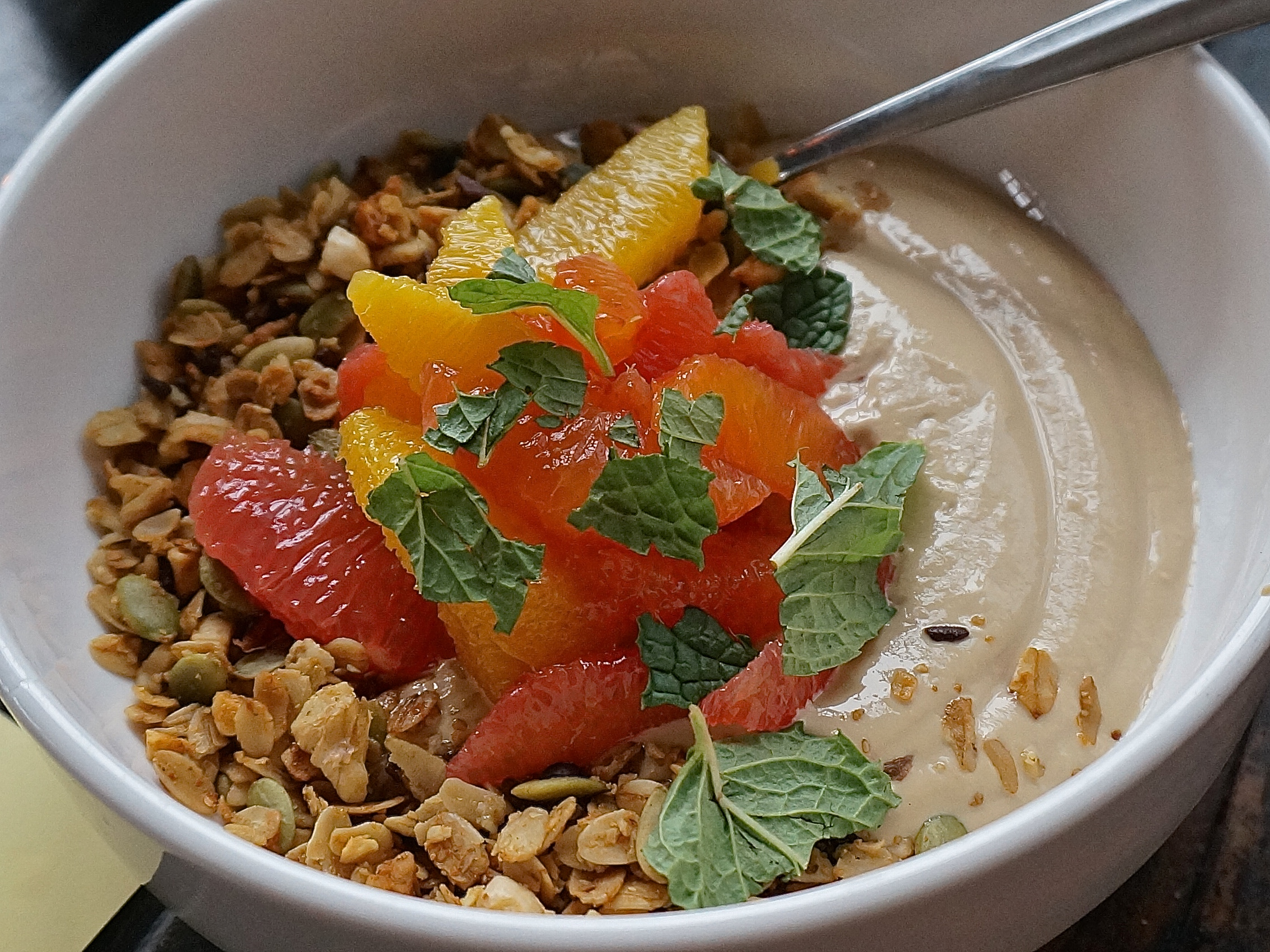 Orange Salad With Cocoa Nibs Recipe — Dishmaps